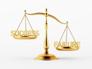 Success and Failure Justice Scale Concept