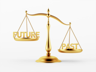 Future and Past Justice Scale Concept