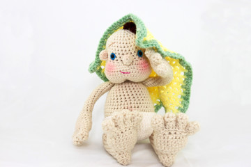 Handmade Doll With Blanket