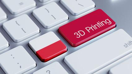 Poland 3d Printing Concept