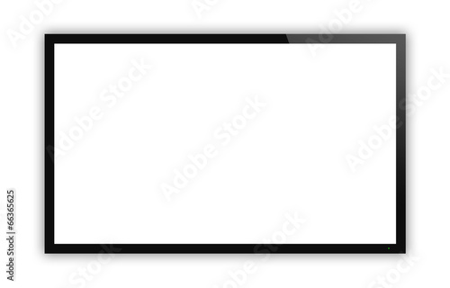 Leinwanddruck Bild TV display