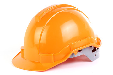 Orange safety hat