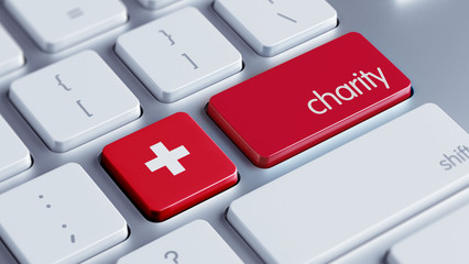 Switzerland Charity Concept
