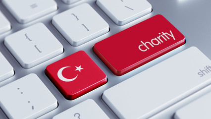 Turkey Charity Concept