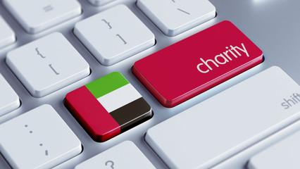 United Arab Emirates. Charity Concept