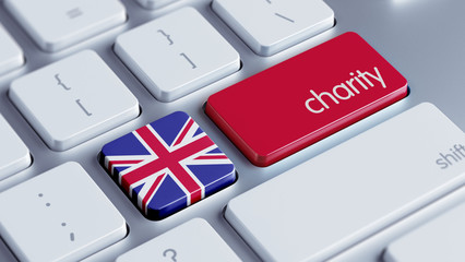 United Kingdom Charity Concept