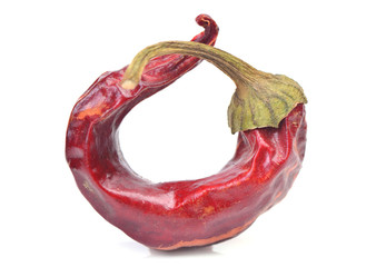 Red hot pepper chili