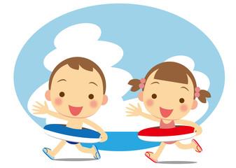海水浴へ行こう!