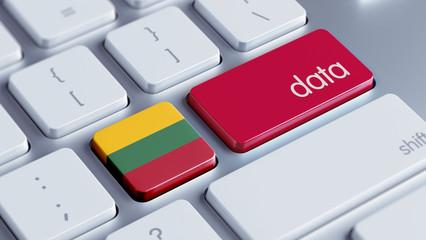 Lithuania Data Concept