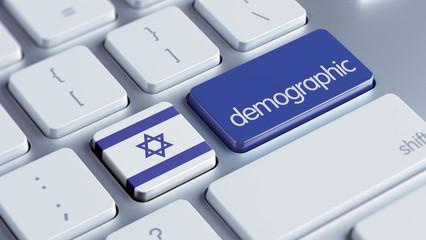 Israel Demographic Concept.