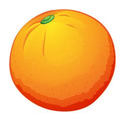 A big orange