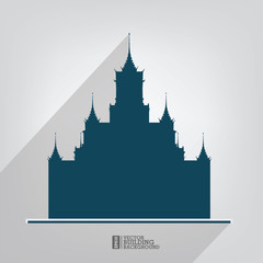 Building icon,Vector illustration