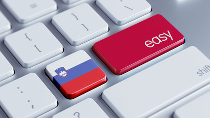 Slovenia Easy Concept