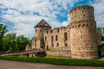Castle in Cesis