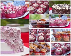 Hochzeits-Collage