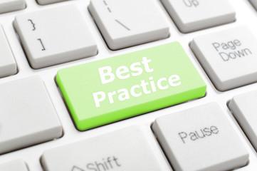 Best practice key on keyboard