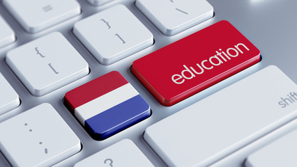 Netherlands Education Concept