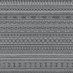 Original tribal doddle ethnic pattern.
