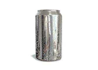 Lata refresco gotas