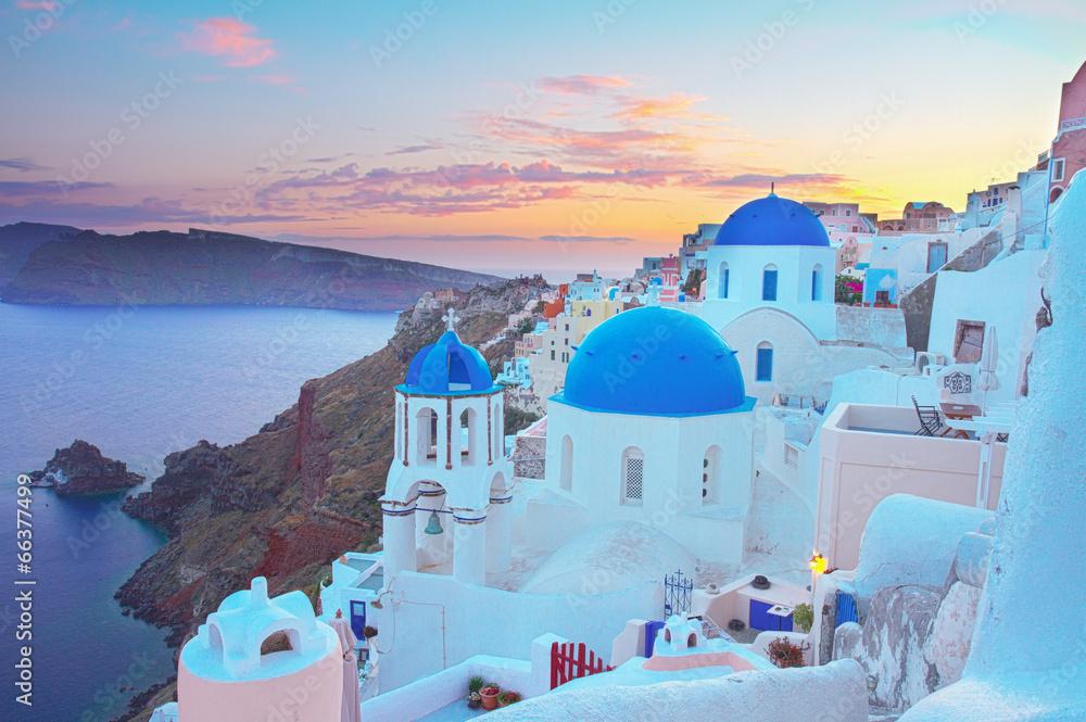 grecja pejzaż wyspa - powiększenie