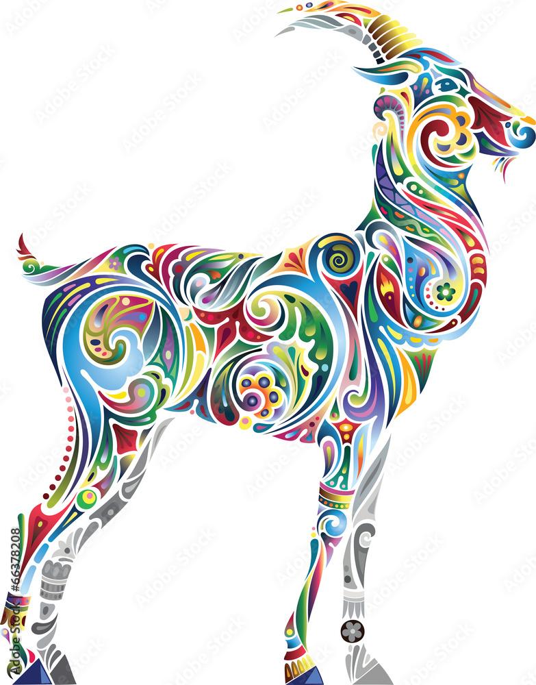 zodiaku baran ilustracja - powiększenie