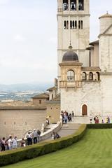 Persone a San Francesco Assisi