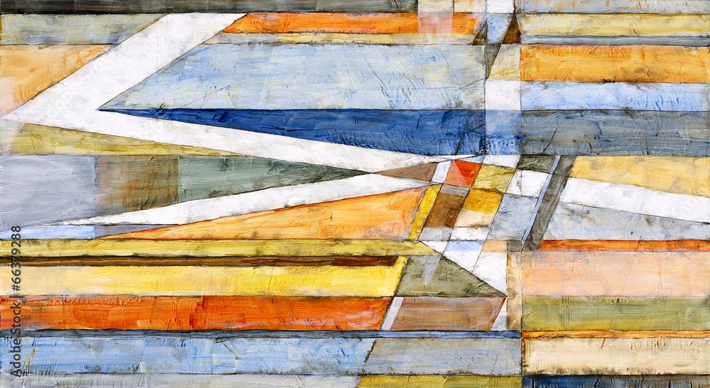 abstrakcja nowoczesny sztuka - powiększenie