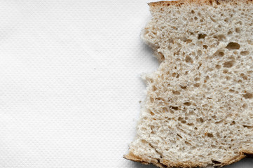 ripped bread background
