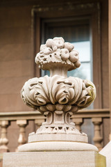 Ornate Stone Balustrade