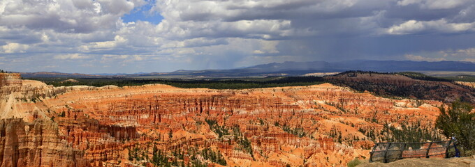 panoramique sur yowimpa Point, Bryce Canyon