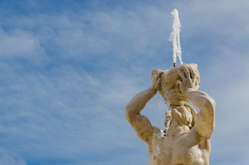 Triton Fountain, Gian Lorenzo Bernini, Barberini square, Rome