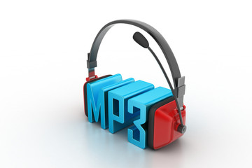 Head phone with mp3