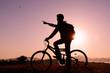 doğada bisiklet keyfi