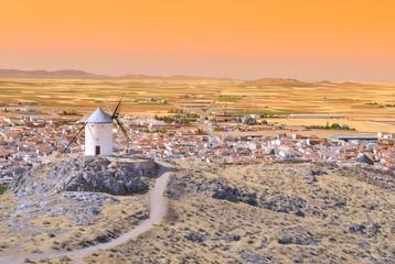 Windmill in Consuegra, Spain.