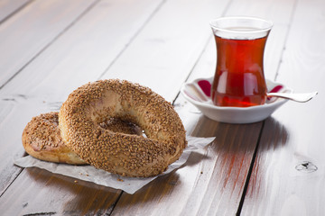 Tea and Simit