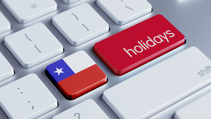Chile Holidays Concept