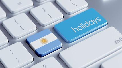 Argentina Holidays Concept
