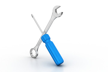 screwdriver and wrench tools