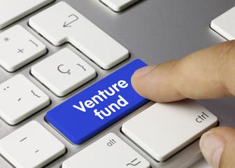 Venture fund. Keyboard