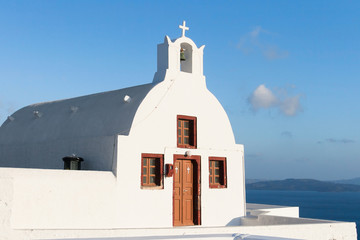 Small chapel in Oia, Santorini