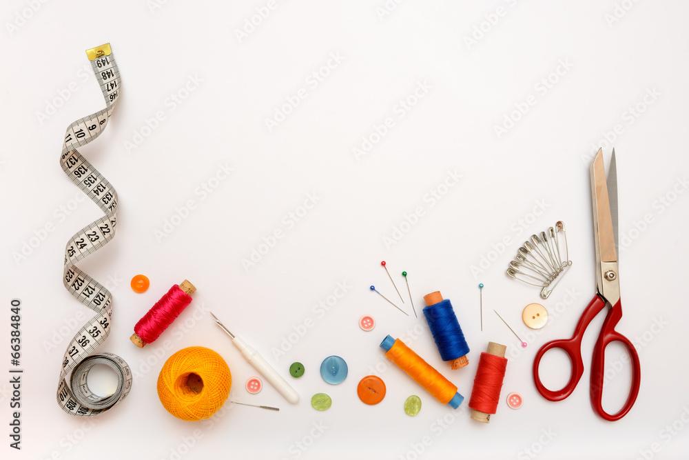 tkanina gwint nożyczki - powiększenie