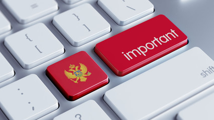 Montenegro. Important Concept