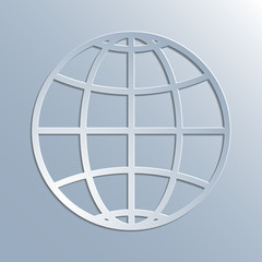 earth symbol icon
