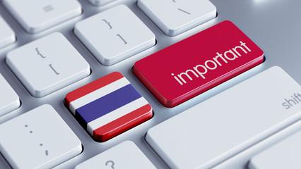 Thailand Important Concept
