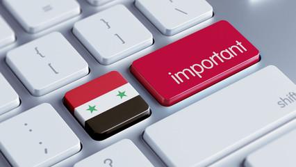 Syria Important Concept
