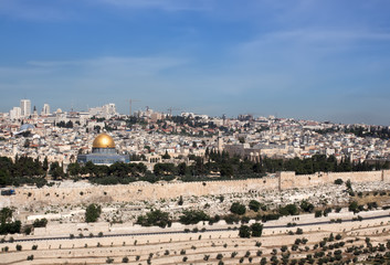 Jerusalem. View of Temple Mount