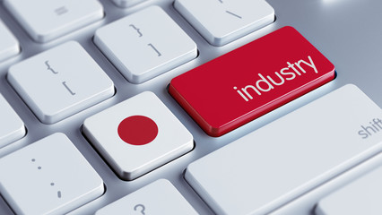 Japan Industry Concept