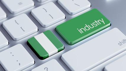 Nigeria Industry Concept