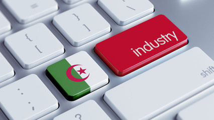 Algeria Industry Concept