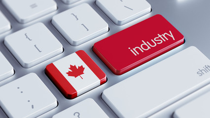 Canada Industry Concept
